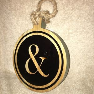 Wall hanging wooden Plaque  &